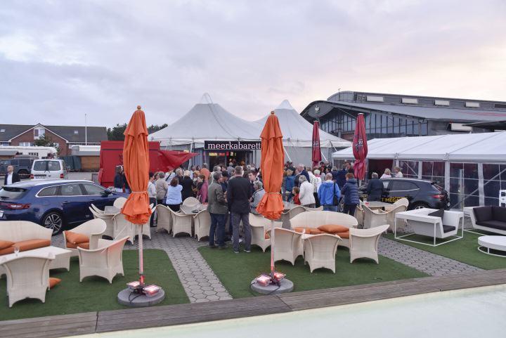 Der neu gestaltete Außenbereich am Rantumer Veranstaltungsort