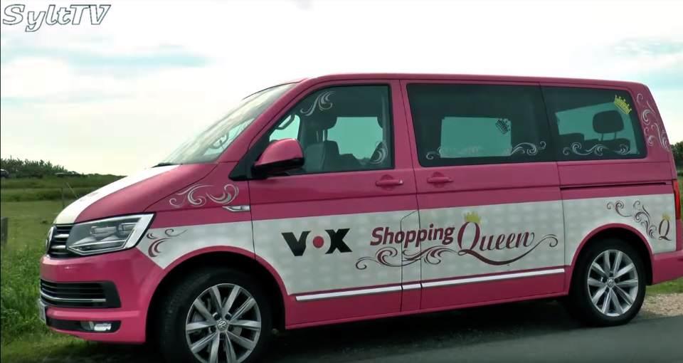 Das Shopping Mobil von VOX auf der Insel
