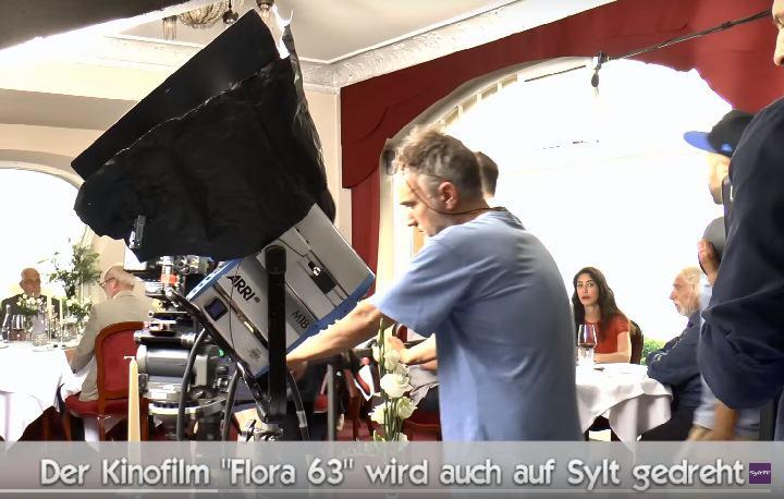Sylt ist Drehort für den int. Film Flora63