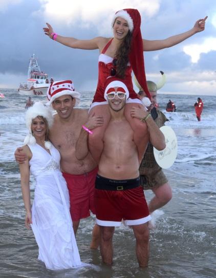 Weihnachtsbaden Sylt 2014