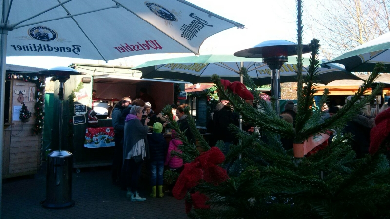 Der Weihnachtsmarkt Jööltir ön Muasem in Morsum