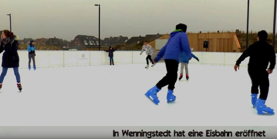 Wenningstedt hat bis Ende Februar 2017 eine Kunsteisbahn