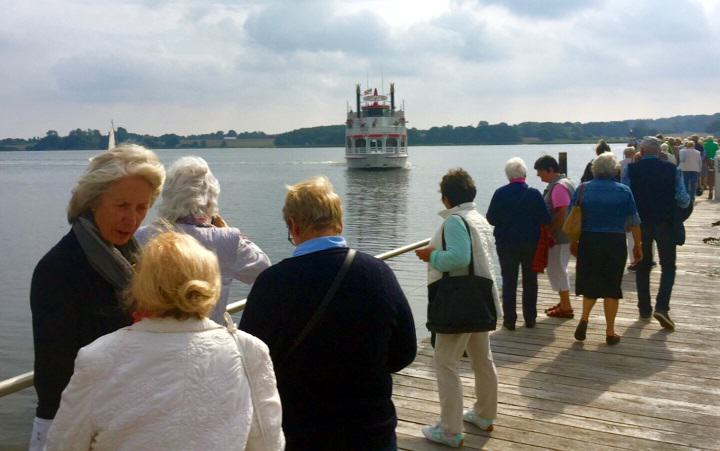Wenningstedter Senioren reisten von Sylt ans Festland