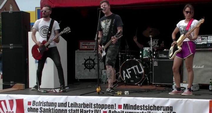 """Punk Konzert von """"Amphet for the unloved"""" auf Sylt"""