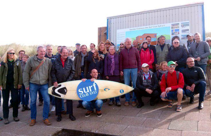 Das Clubhaus des Surf Club Sylt