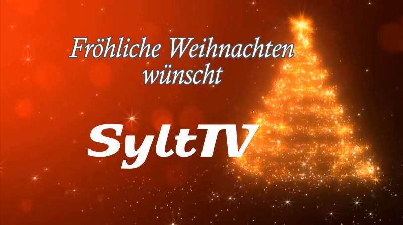 frohe weihnachten und lekelk j l vom sylt tv team sylt tv. Black Bedroom Furniture Sets. Home Design Ideas
