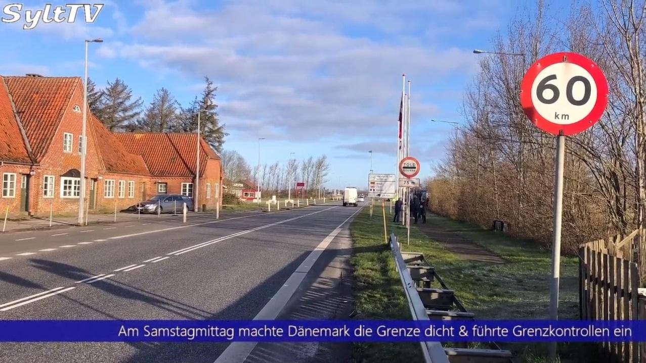 Inzwischen ist die Grenze zwischen Deutschland und Dänemark geschlossen worden.