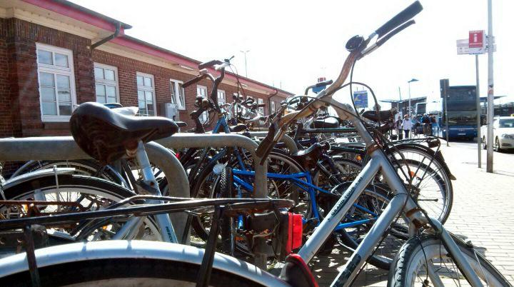 Schrottfahrräder auf Sylt werden eingesammelt