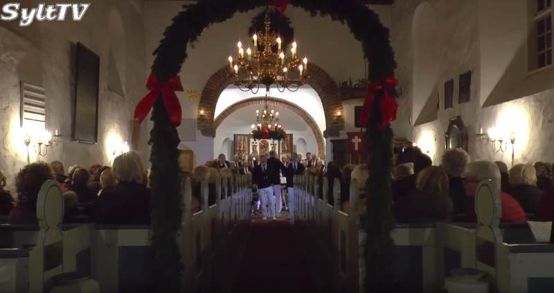 Shanty Chor Konzert zu Weihnachten auf Sylt