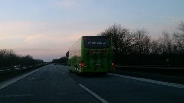 Mit dem Fernbus nach Sylt