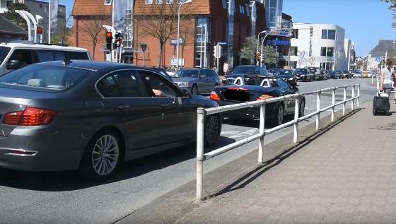In Westerland wird morgen ein sehr hohes Fahrzeugaufkommen erwartet