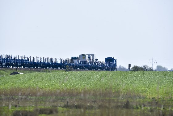 RDC Autozug Sylt auf dem Hindenburgdamm
