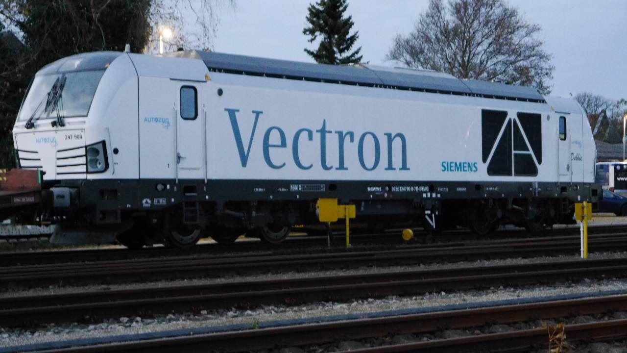 Zwei Siemens Vectron DE Loks künftig auf der Syltstrecke im Einsatz