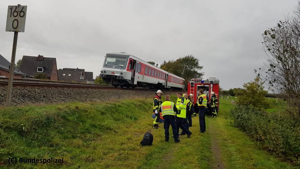 Qualmender Zug sorgte für Streckensperrung