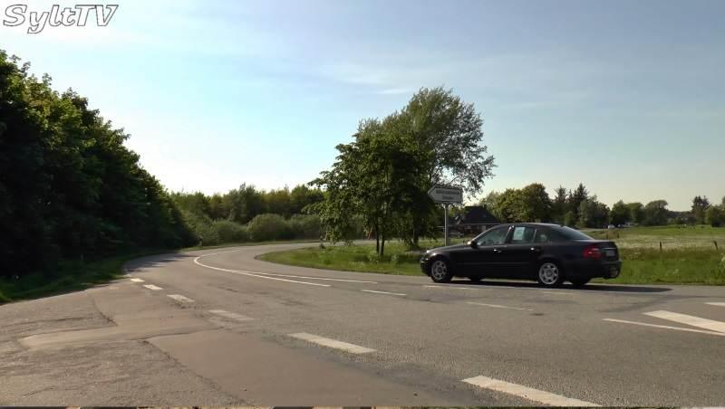 Einfahrt Umleitung Peter-Schmidts-Weg Legerade
