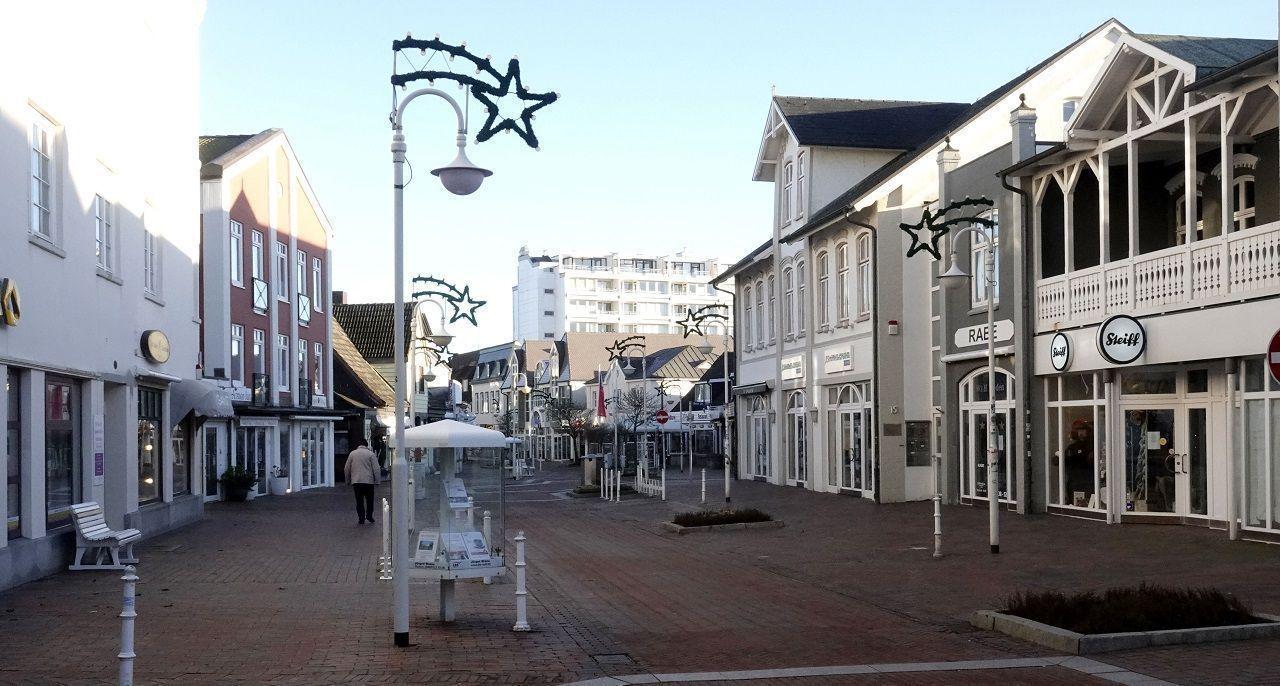 Schon zu Weihnachten waren die Straßen zur besten Zeit oft leer gefegt