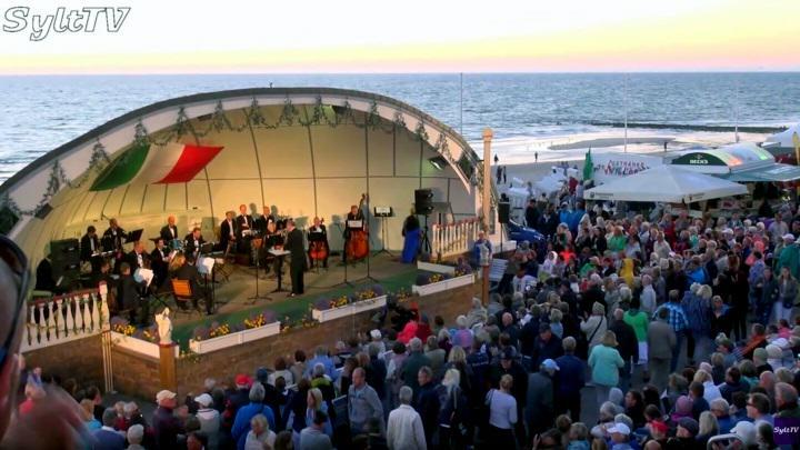 In der Musikmuschel auf der Westerländer Promenade sollen wieder Konzerte stattfinden