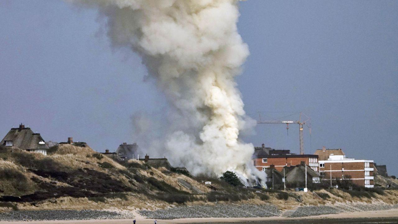 Großbrand in List auf Sylt