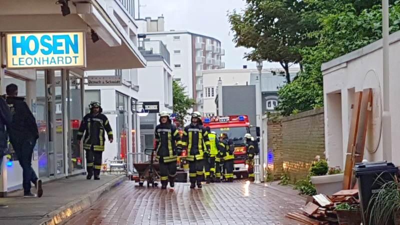 FFW Westerland und Tinnum waren 7 Stunden im Einsatz
