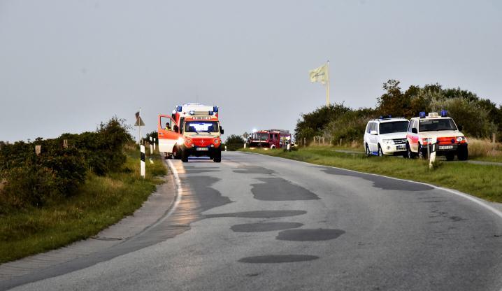 Sylter Rettungskräfte übten den Ernstfall