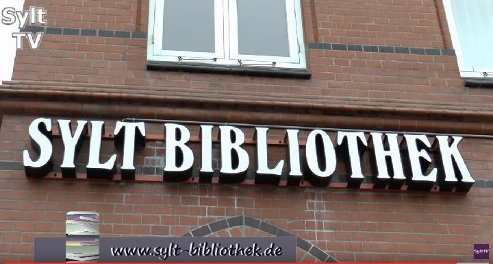 Die Sylt Bibliothek befindet sich in der Stephanstraße von Westerland