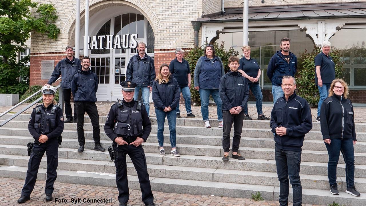 Polizei und Stadtlotsen und das Ordnungsamt der Gemeinde Sylt sind auf die kommende Saison gut vorbereitet.