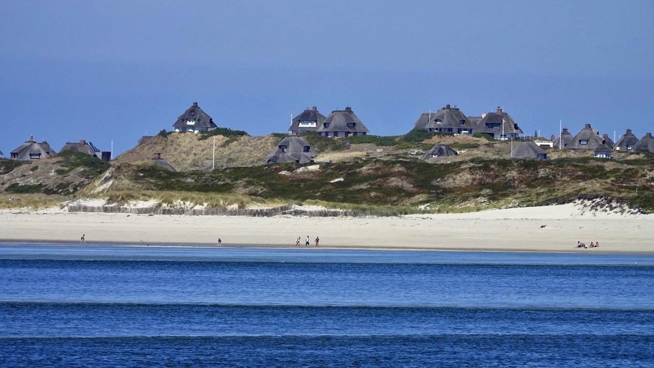 Auch von der Nordsee aus sieht die Kersig-Siedlung schon sehr hyggelig aus