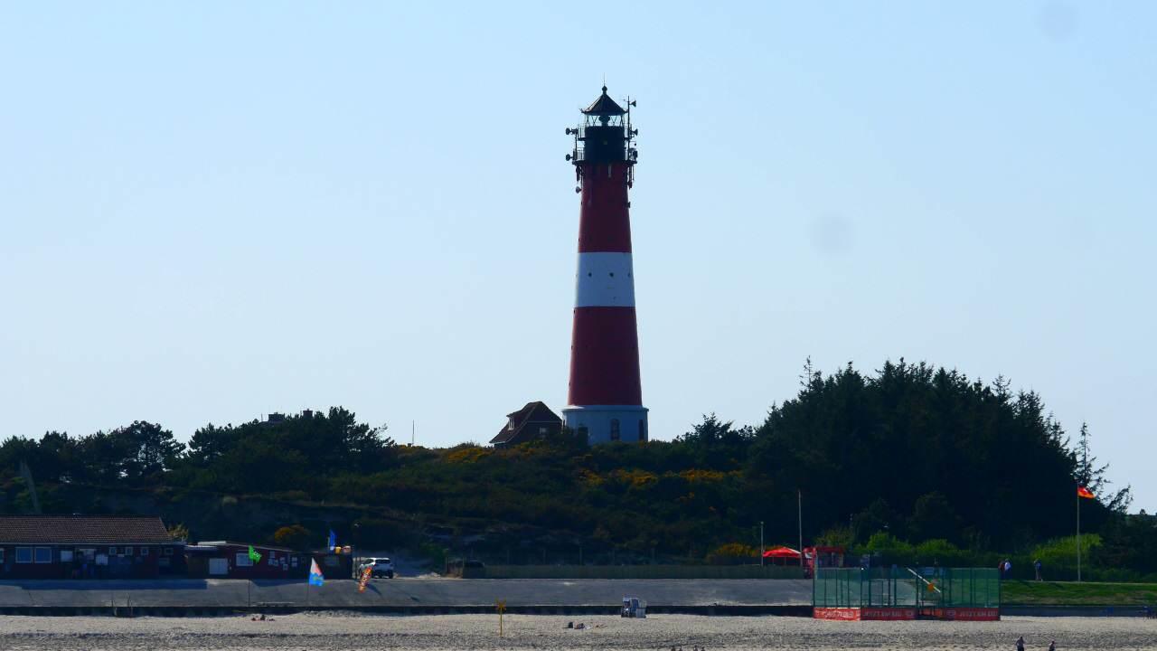 Der Hörnumer Leuchtturm ist der einzige auf Sylt, der besichtigt werden kann