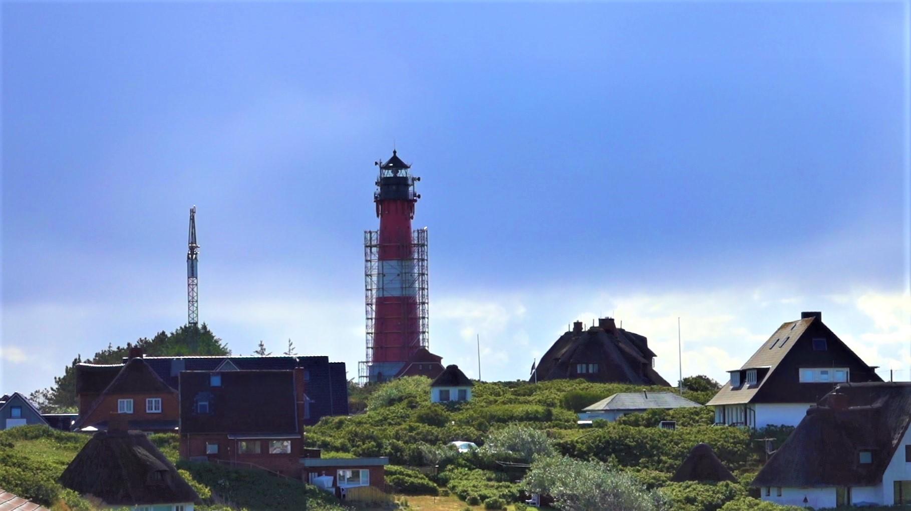Die Sanierung des Hörnumer Leuchtturms stört in dieser Zeit den Mobilfunkempfang auf Sylt
