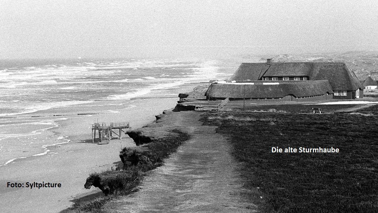 Die alte Sturmhaube um 1960