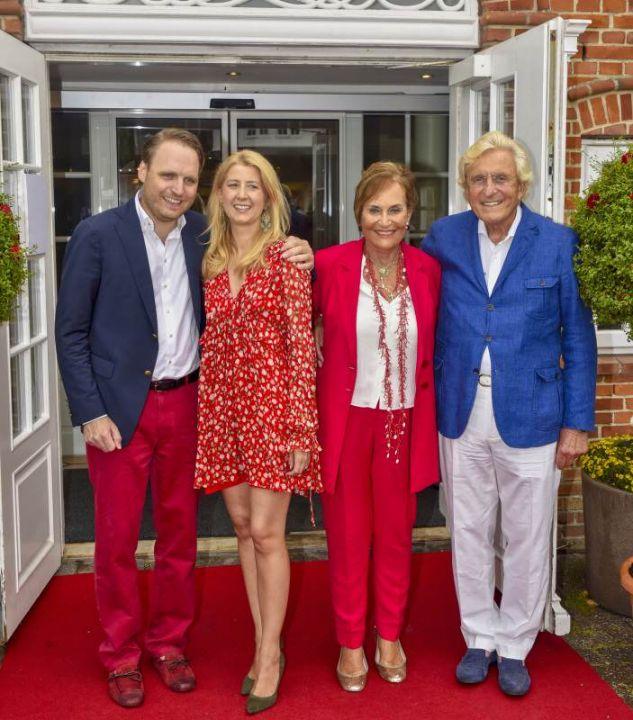 Familie Baumann aus Hamburg, die das jährliche Event ausrichtet