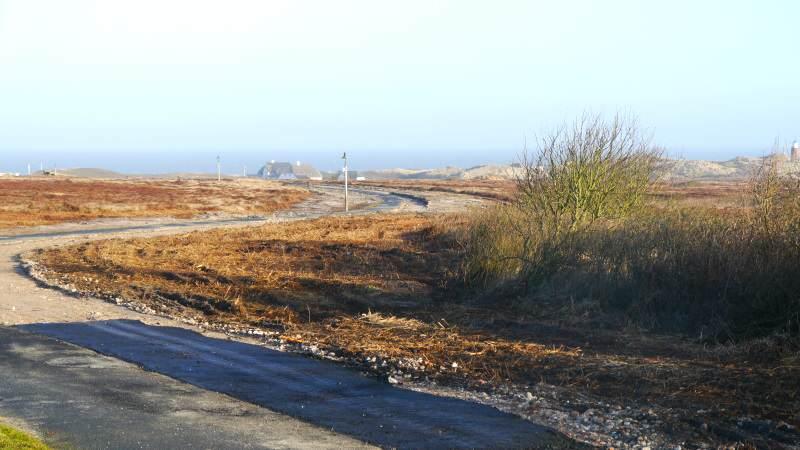 Der Fahrradweg zwischen der Kurhausstraße und dem Roten Kliff wird erneuert