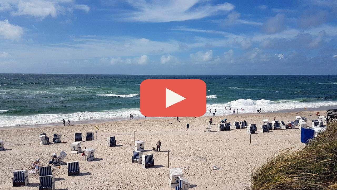 Live Webcam vom Kampener Strand  auf Sylt