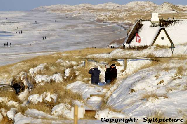 Archivbild - Winter auf Sylt