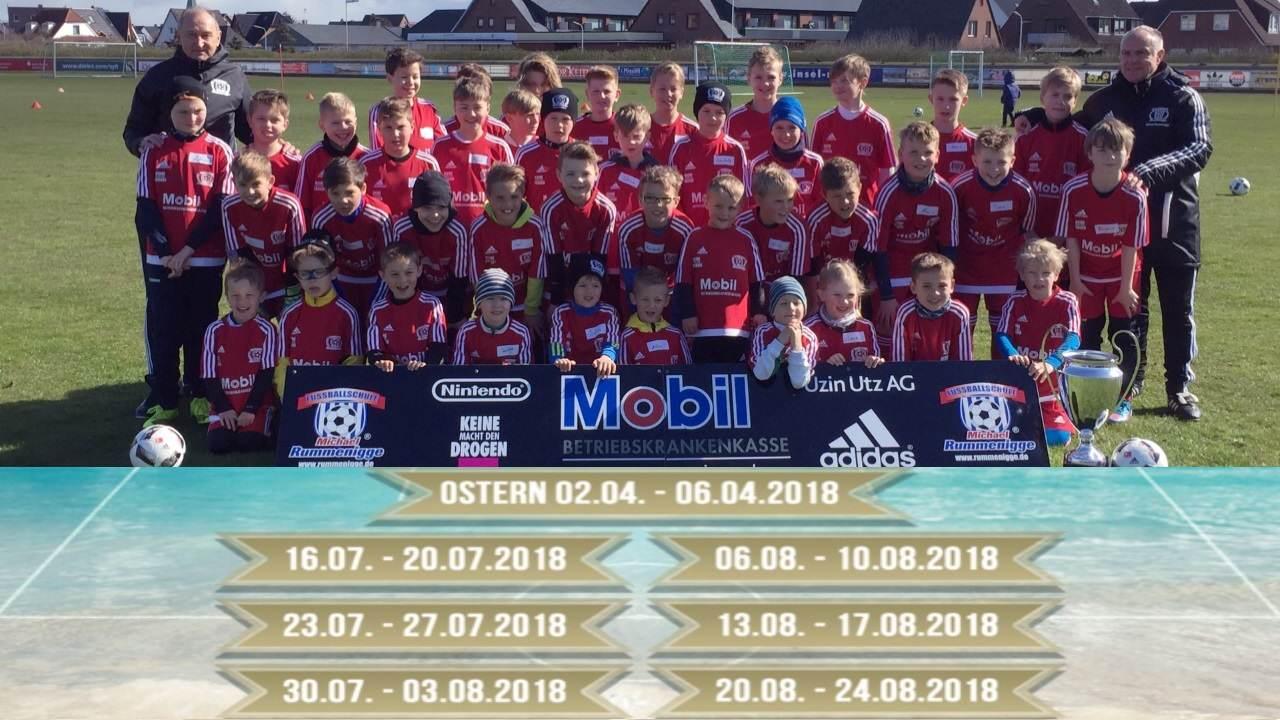 2018 ist die Rummenigge Fußballschule zu 7 Terminen auf Sylt