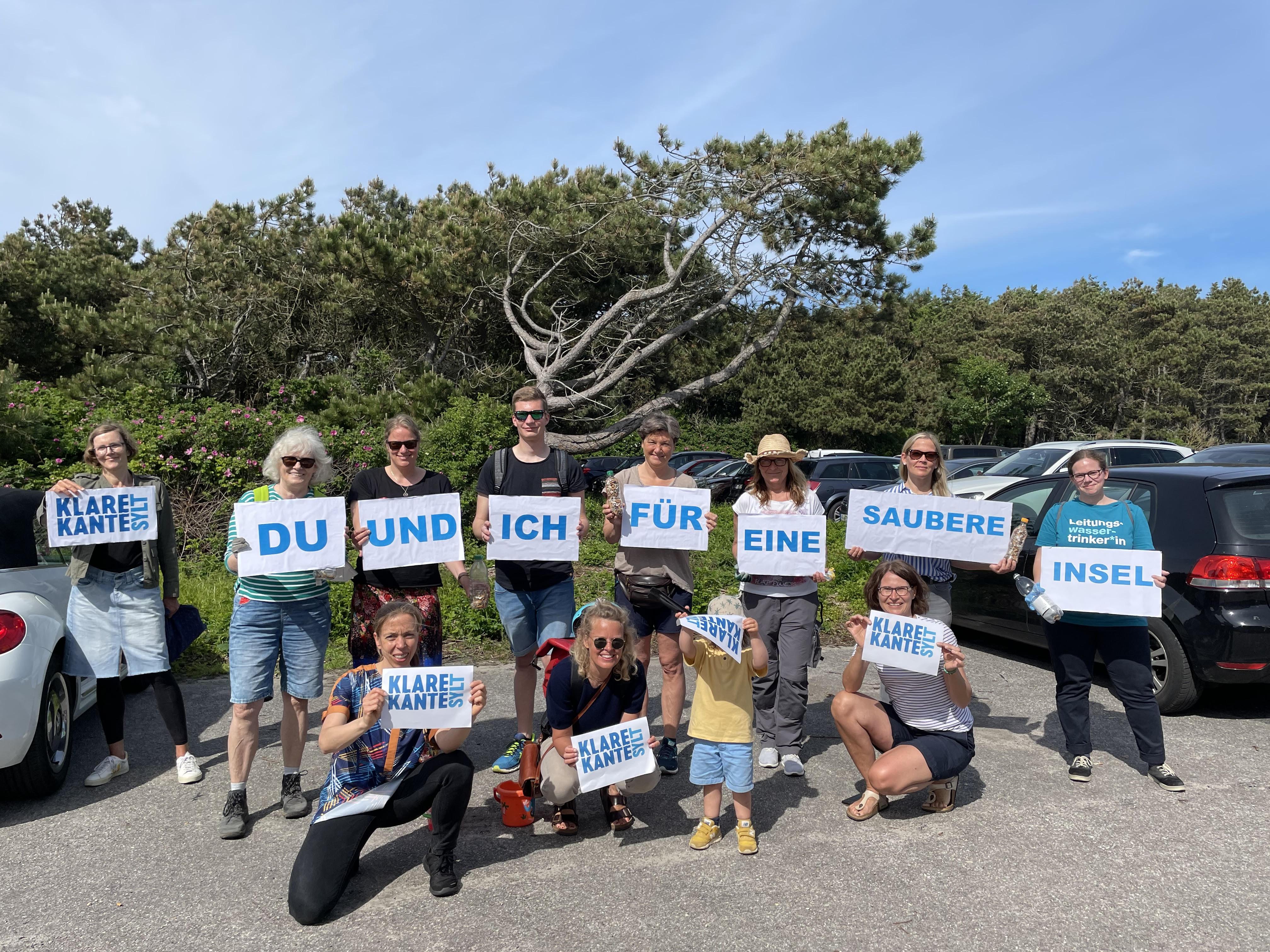Sylter und Gäste sammelten gemeinsam für unsere Umwelt