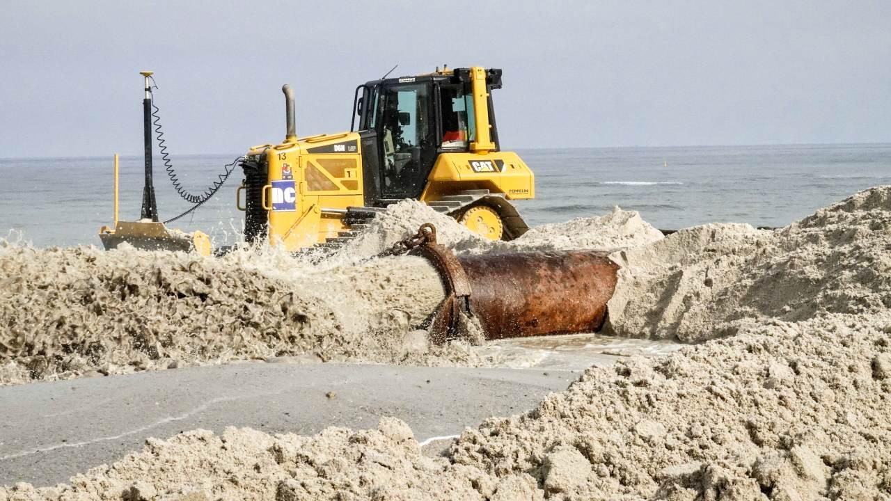 Neuer Sand sorgt in Kampen für Urlaubsfreuden und Küstenschutz