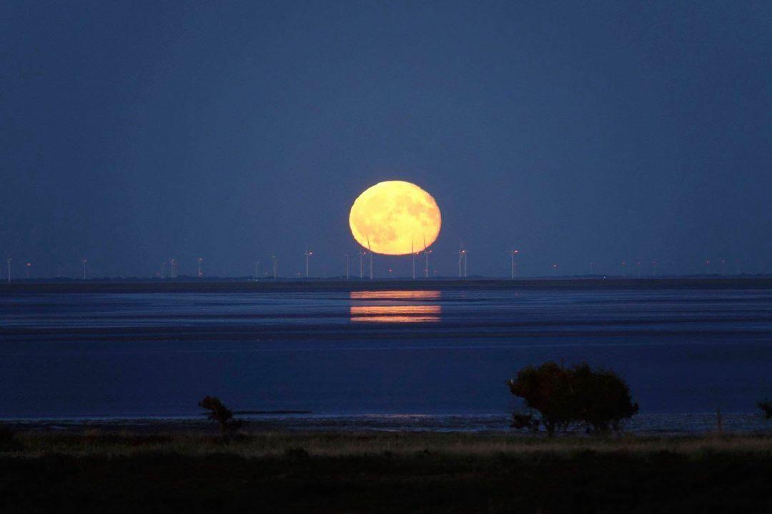 Moonrising Sylt