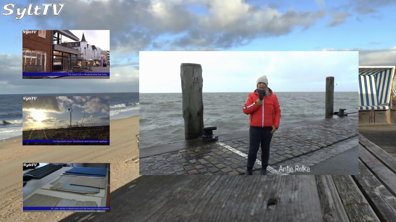 Viele Grüße von der schönen Winterinsel Sylt