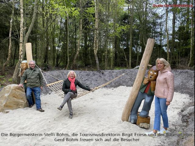 In Kampen freut man sich über die neue Attraktion für kleine und große Gäste