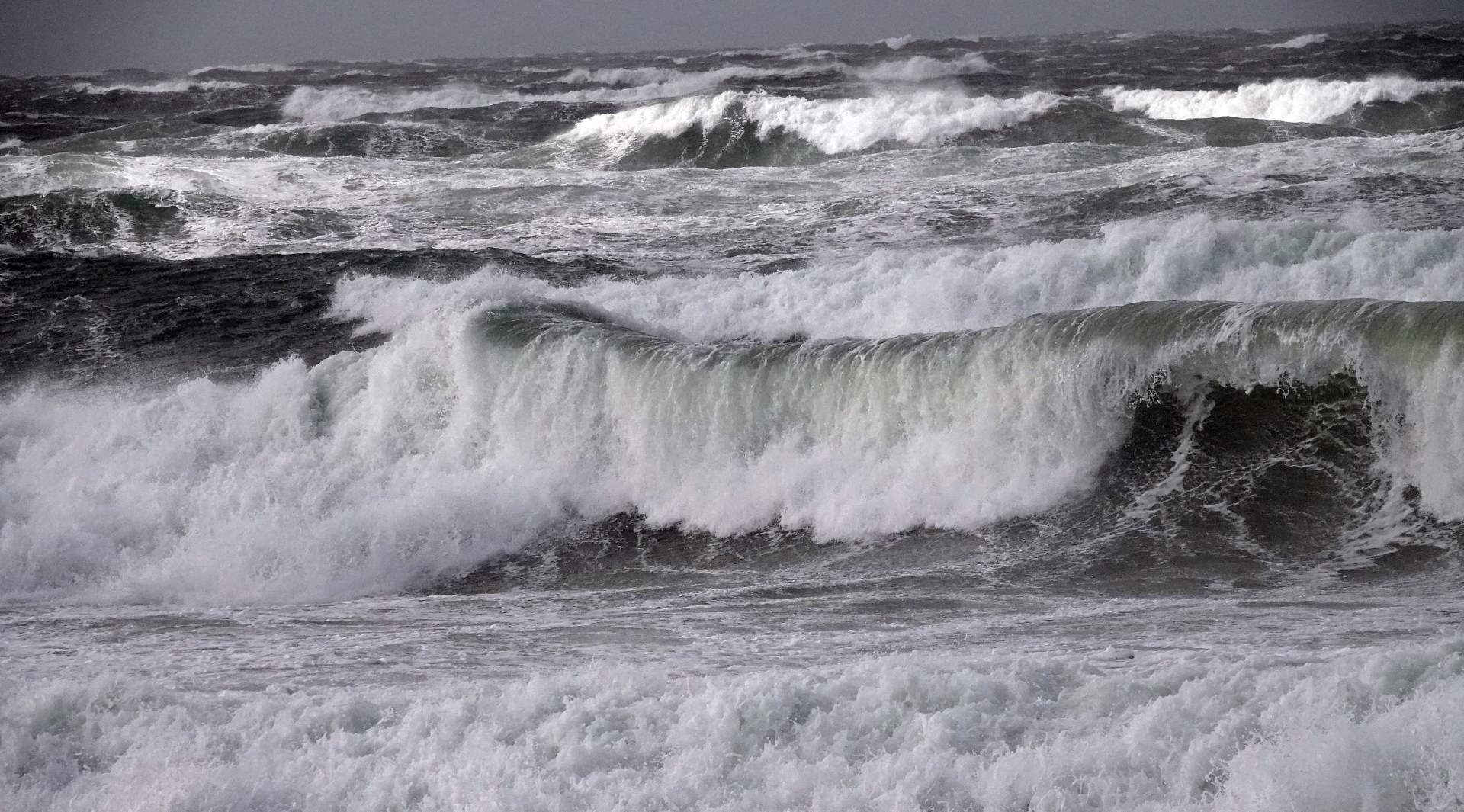 Ein Sturm oder Orkan auf Sylt ist auch immer ein faszinierendes Naturschauspiel
