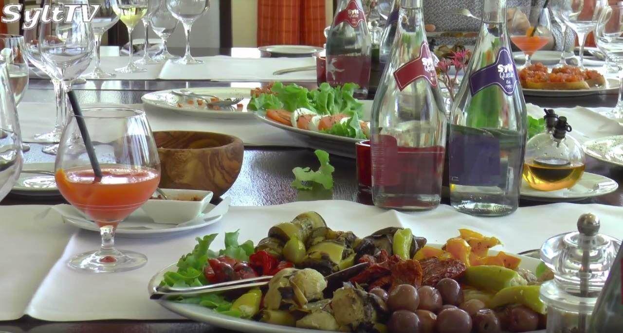 Speisen im Restaurant Villaggio in Rantum auf Sylt