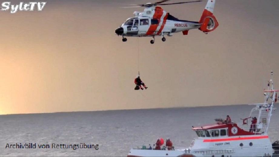 Segler nach umfangreicher Suche aus der Nordsee gerettet