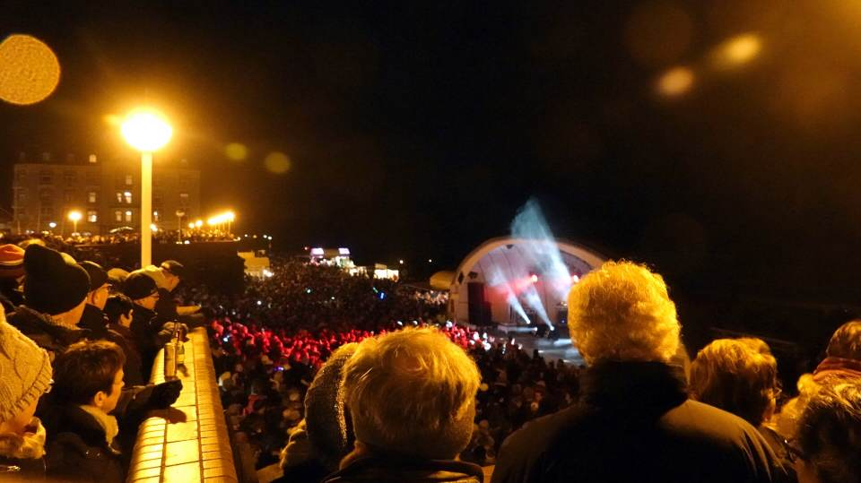 Die NDR2 Silvesterparty mit Blick aufs Meer