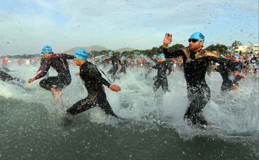 Alle Top-Athleten des 1. Sylt Triathlon