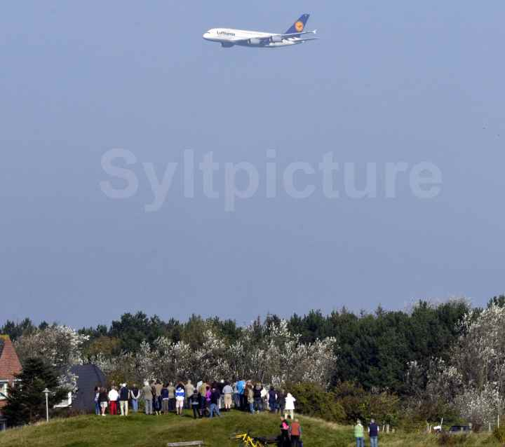 Airbus A380 Sylt