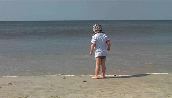 Mit Kindern am Sylter Strand