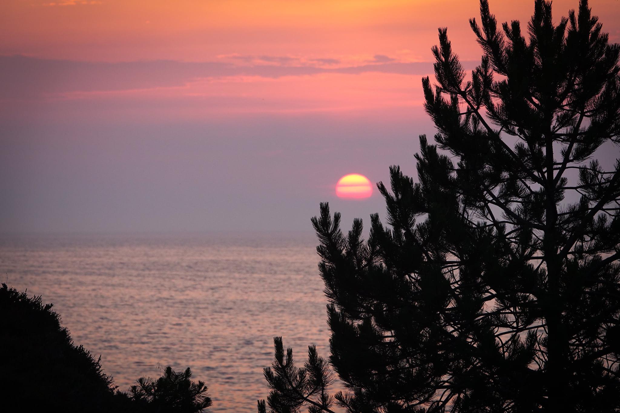 Bei Sonnenaufgang ist dieser wunderschöne Flecken ERde auch noch in ein besonderes Licht getaucht