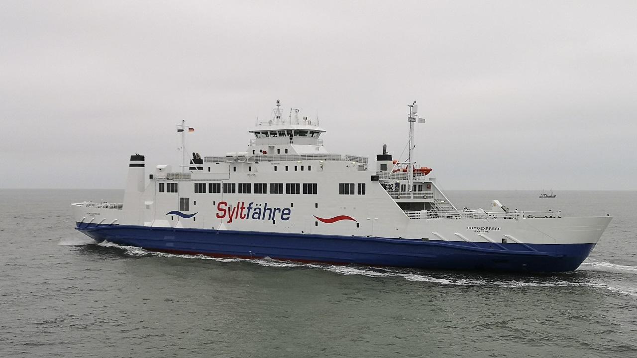 In einer Woche nimmt die zweite Autofähre den Fährbetrieb zwischen Römö und Sylt auf