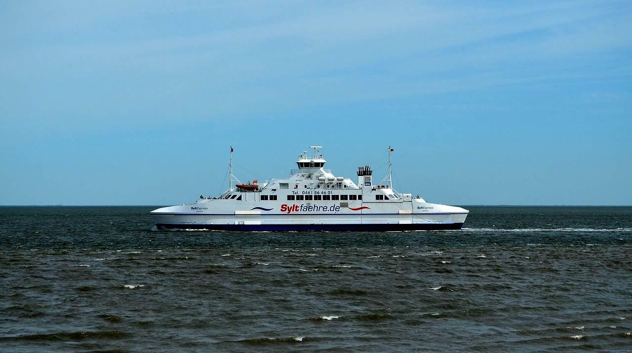 Die maritime Anreise mit dem PKW nach Sylt geht nur mit der SyltExpress